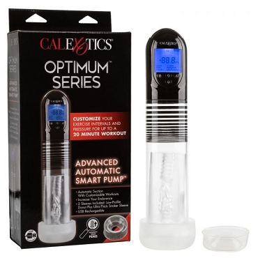 Optimum Series Rechargeable Advanced Automatic Smart Pump - Clear